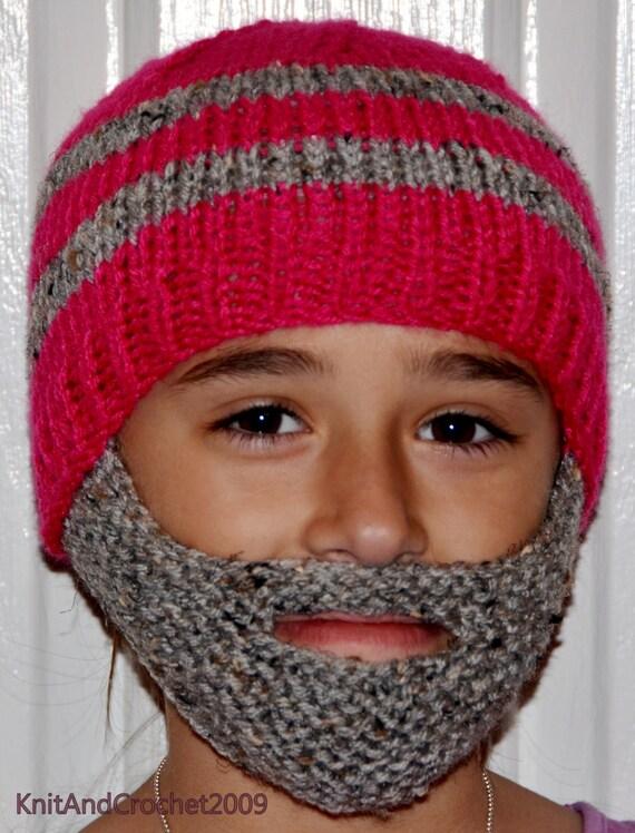 5249a63b82d Beard Hat Beard Beanie Kids-All Sizes All Colors Bearded