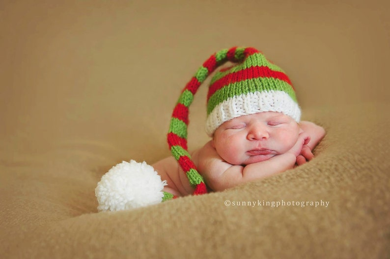 81cf5a26fc5 Santa s Little Helper Hat Santa Christmas Photo Prop Red