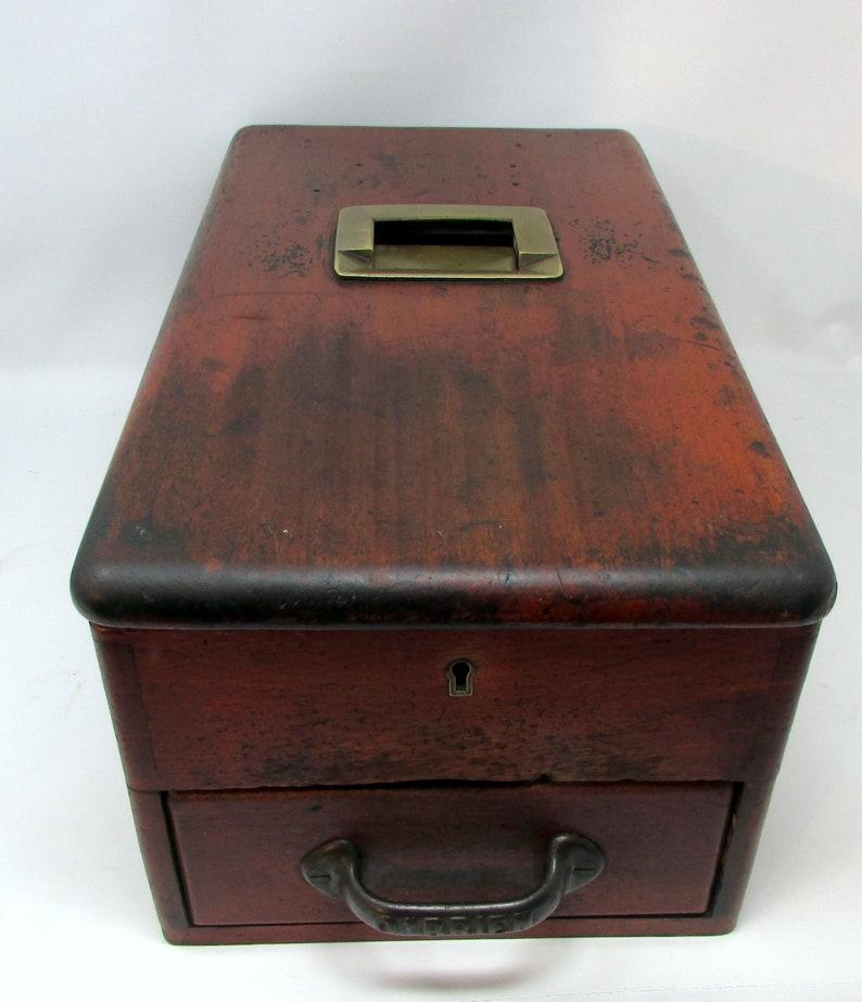 Welp Antieke Cash lade Obriens Self-Closing tot houten kassa van | Etsy MD-88