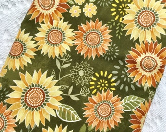 Sunflower Plastic Bag Holder - Grocery Bag Dispenser - Kitchen Storage