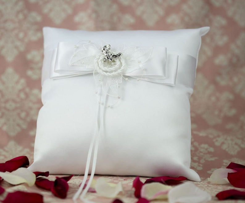 Western Cowboy Lasso Wedding Ring Bearer Pillow 75118