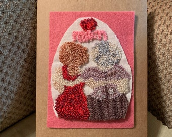 Wooly Greetings choose selection or Made to order.....