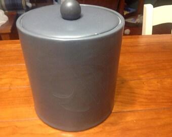 Retro Ice Bucket Holder Container