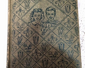 Vintage Book The Bobbsey Twins in The Country Laura Lee Hope 1950 childrens