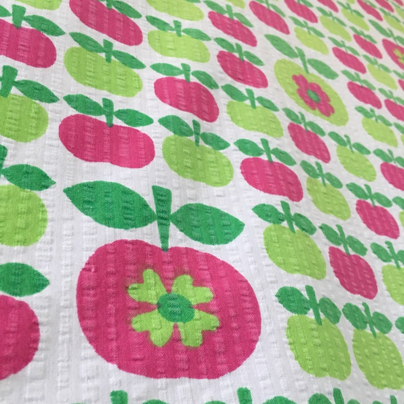Vintage european cotton fabric
