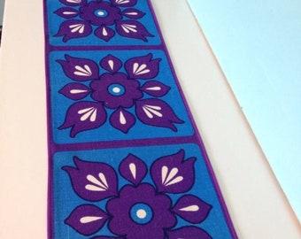 Vintage european tablerunner fabric