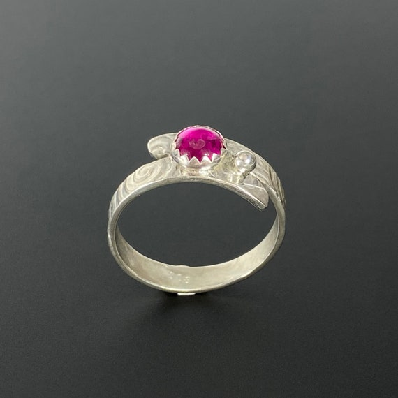 Wrap Lab Ruby Swirl Ring