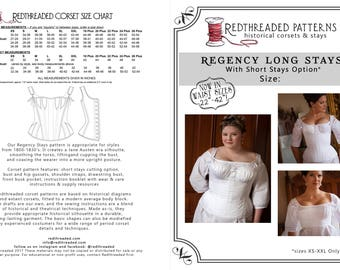 b0575f1dda9 Historical Corset Pattern PDF Downloads by Redthreaded on Etsy