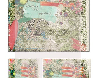 grunge texture journal paper sheet No 3..... A4 DiGiTaL CoLLaGe JoUrNaL ImAgEs
