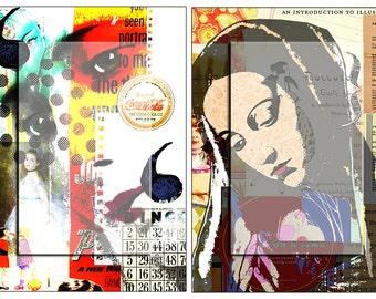 Virgin Mary 2..... A4 digital download collage sheet...Instant Digital Download.