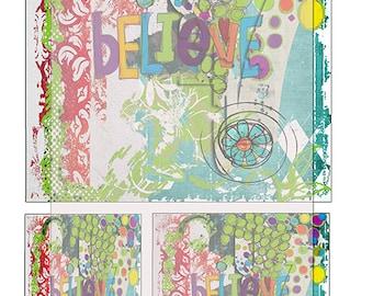 grunge texture journal paper sheet No 5..... A4 DiGiTaL CoLLaGe JoUrNaL ImAgEs. Instant printable Digital Download.