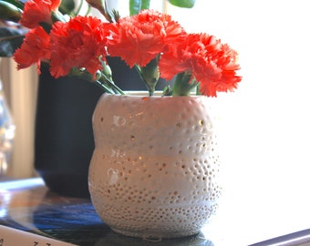Goldie Dots Vase