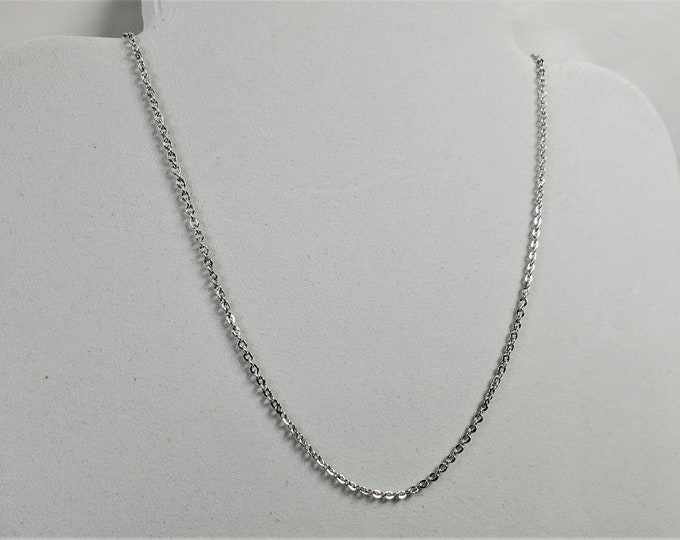 Sparkling Delicate Silver Plated Chain Leash for Face Mask - Converts to a Necklace - Beautiful, Useful Convertible Jewelry Gift