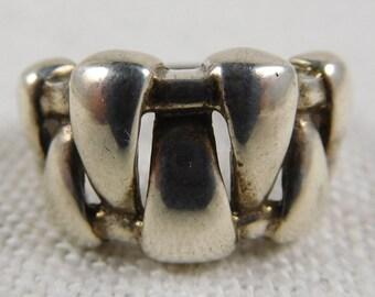 Vintage Sterling Silver Petite Ring
