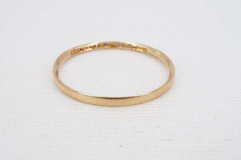 size 9.75 vintage 1942 finnish 18k gold nestor westerback band ww