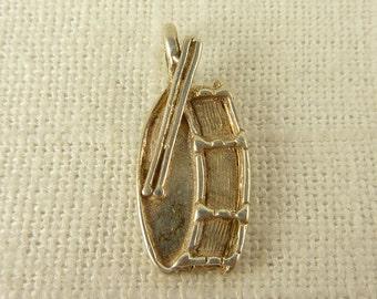 Vintage Sterling New Leaf Pendant
