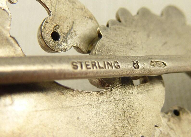 Antique Victorian William Kerr Sterling Rococo Buckle Piece