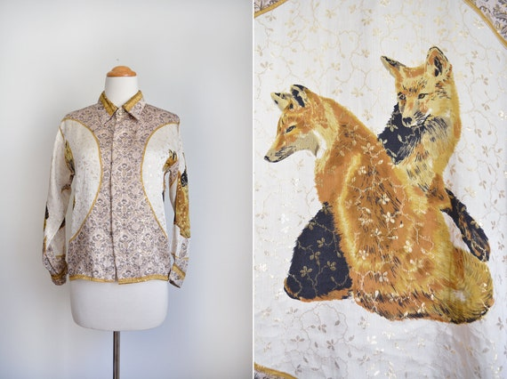 AMAZING FOX SHIRT // Baroque - Long Sleeve - Butto
