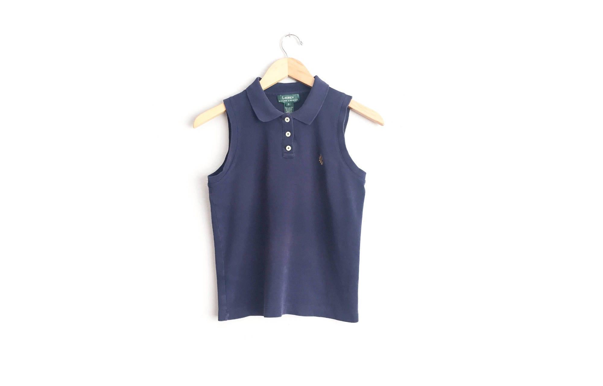 Sale Size S Navy Sleeveless Polo Ralph Lauren Etsy