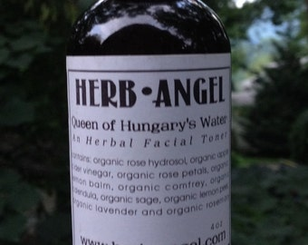 Queen of Hungary's Water - Herbal Facial Toner