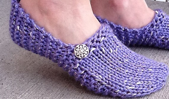 Kwiki Slippers Pattern Knit In A Few Hours Seamless And Etsy