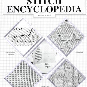 2   Digital PDF Bond Ultimate Sweater Machine Book  Bond Stitch Encyclopedia Vol