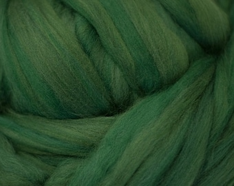 Pine solid Merino Wool Combed Top for spinning- 8 ounces