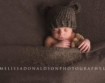 6fa478892de Infant bear hat