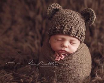 3b37ddf689a Baby bear hat