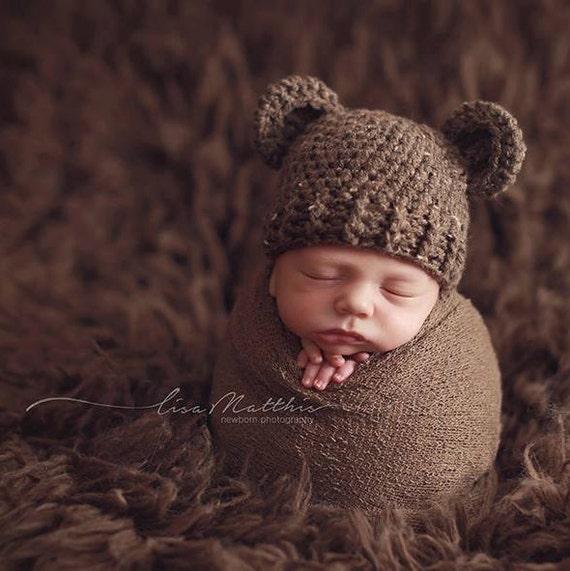 deeeb29d814 Baby Bear Hat Boy Hat Bear outfit Bear costume Teddy Bear