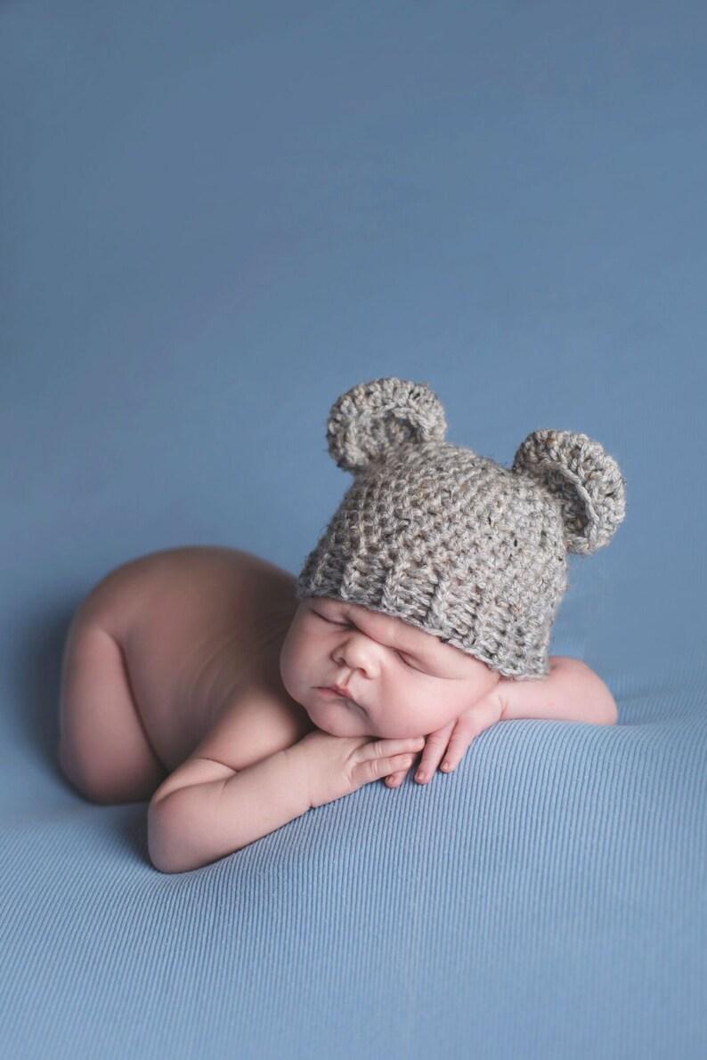 2bc1e0ef4b2 Baby Bear Hat Boy Hat Bear outfit Bear costume Teddy Bear