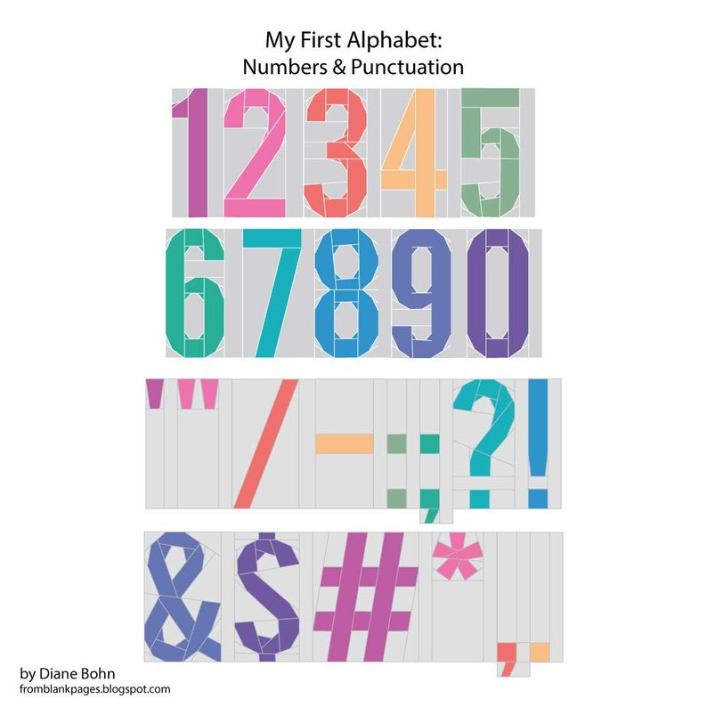 3 inch My First Alphabet: Numbers & Punctuations 213 image 0