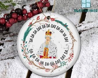 My Frist Christmas Ornament King George Chorus Ornament