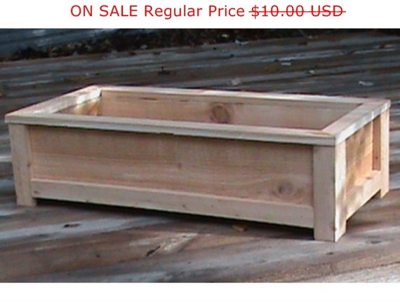 Cedar Planter Plans Wood Working Plans Outdoor Planters Etsy