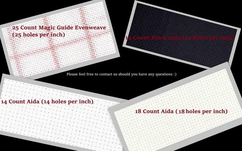 Modern Cross Stitch Kit /'Autumn Breeze/' Jo Grundy Counted Needlecraft Kit with DMC materials Bird and Tree Embrodery Kit Modern Art