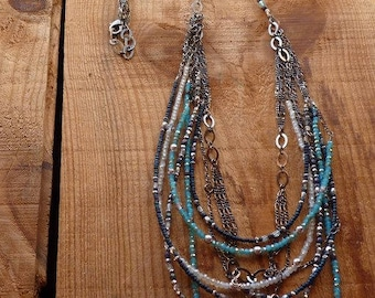 long sparkle necklace