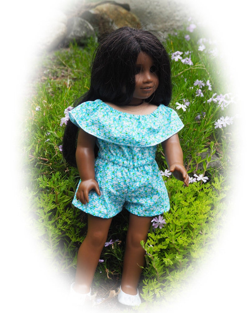 Romper 18 inch Doll Clothes  will fit such Dolls as American Girl Doll