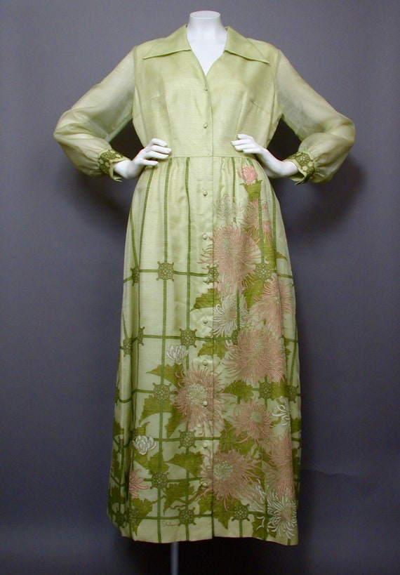 Vintage 1960s Shaheen Hawaiian Cocktail/Hostess Dr