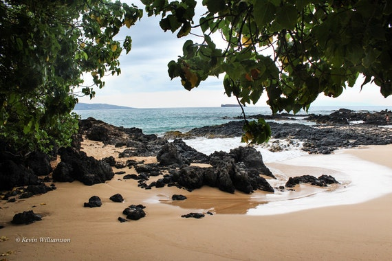Secret Beach Maui—Photo Print or Canvas Gallery Wrap
