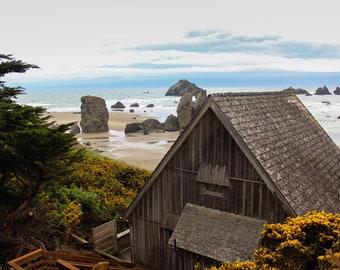 Coastal Cottage—Photo Print or Canvas Gallery Wrap
