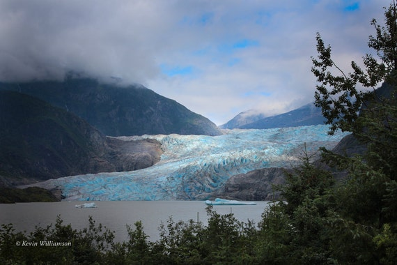 Mendenhall Glacier Alaska—Photo Print or Canvas Gallery Wrap