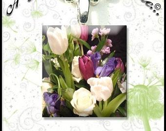 Piastrelle con i tulipani etsy