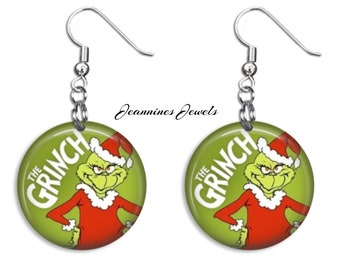 f5171d57d9058 The GRINCH Who Stole Christmas Keyring Stocking Stuffer Charm | Etsy