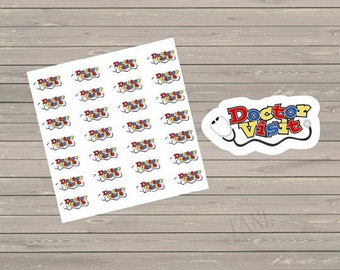Doctor Planner Stickers, Appointment Stickers, Fits Erin Condren Planner, Reminder Stickers, Doctor Visit Stickers, To Do Stickers