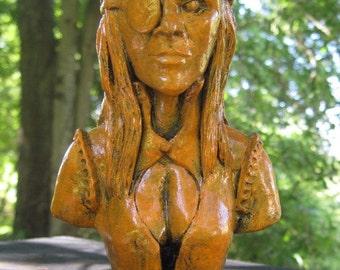 Lady Pirate Mascot Figurine
