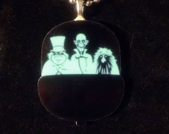 Haunted Mansion Doom Buggy Necklace