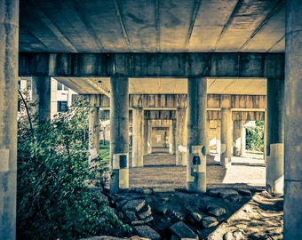 Rochester, Michigan Under The Bridge Fine Art Photographic Print