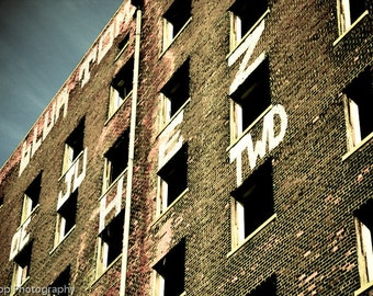 Abandoned Building in Midtown Detroit Fine Art Photograph
