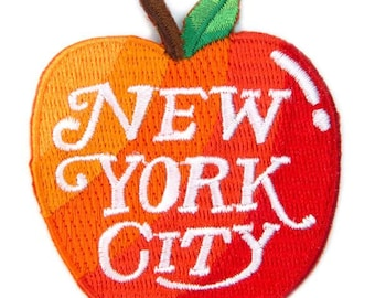 New York City Iron On Patch