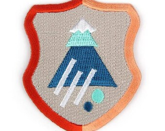 Explorers Crest Iron On Patch